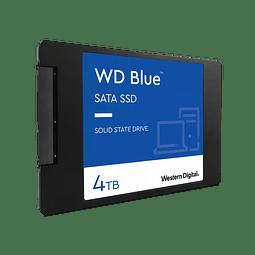 SOLIDO SATA (SSD) 4TB - WESTERN DIGITAL BLUE