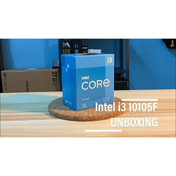 INTEL CORE I3 10105F / 4 NUCLEOS - 8 HILOS A 4.4GHZ