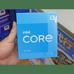 INTEL CORE I3 10105 / 4 NUCLEOS - 8 HILOS A 4.4GHZ