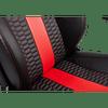 SILLA T2 RACE BLACK & RED - CORSAIR