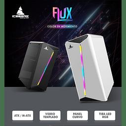 FLUX RGB  BLACK - ICEBERG