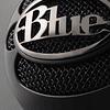 MICROFONO SNOWBALL BLACK - BLUE