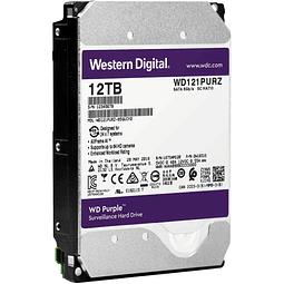 DISCO 12 TERAS PC / 64MB / 7200RPM- WESTERN DIGITAL PURPLE
