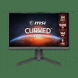 """MSI 24"""" GAMING CURVO (144HZ-1MS)"""