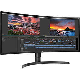 "LG 34"" 2K IPS ULTRAWIDE CURVO (60HZ-HDMI-DP-TYPE C)"