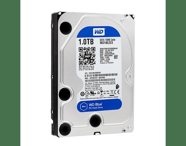 DISCO 1 TERA PC / 64MB / 7200RPM - WENSTERN DIGITAL BLUE