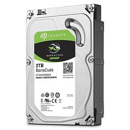 DISCO 2 TERAS PC / 64MB / 7200RPM - SEAGATE