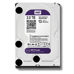 DISCO 2 TERAS PC / 64MB / 7200RPM - WESTERN DIGITAL PURPURA