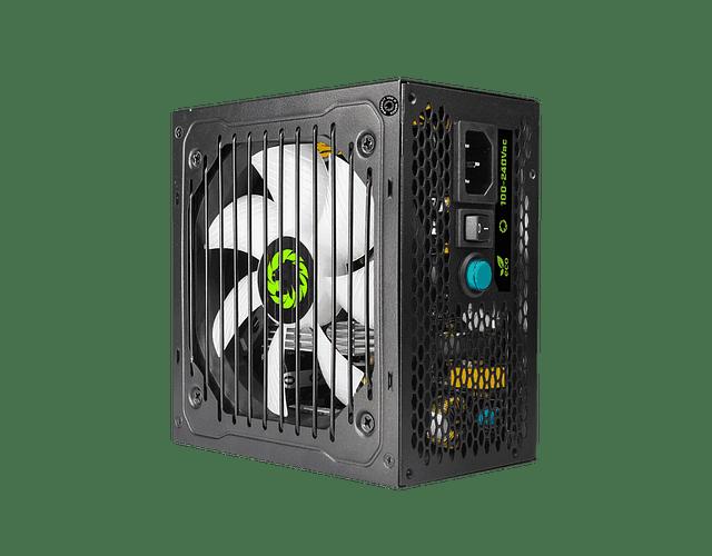 FUENTE REAL 800W 80 PLUS BRONZE RGB - GAMEMAX