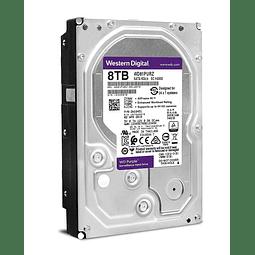 DISCO 8 TERAS PC / 64MB / 7200RPM - WESTERN DIGITAL PURPLE