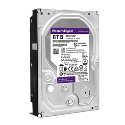 DISCO 8 TERAS PC / 64MB / 7200RPM - WESTERN DIGITAL PURPLE