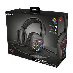 DIADEMA RGB GAMING 7.1 - GXT / REGALO RAINBOW SIX SIEGE