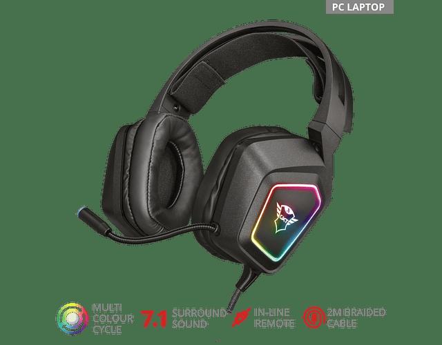 DIADEMA RGB GAMING 7.1 - GXT