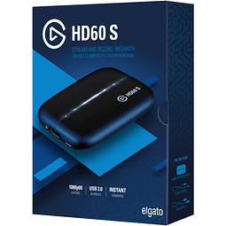 EL GATO HD60S / CAPTURADORA - USB 3.1 / 108OP - 60 FPS