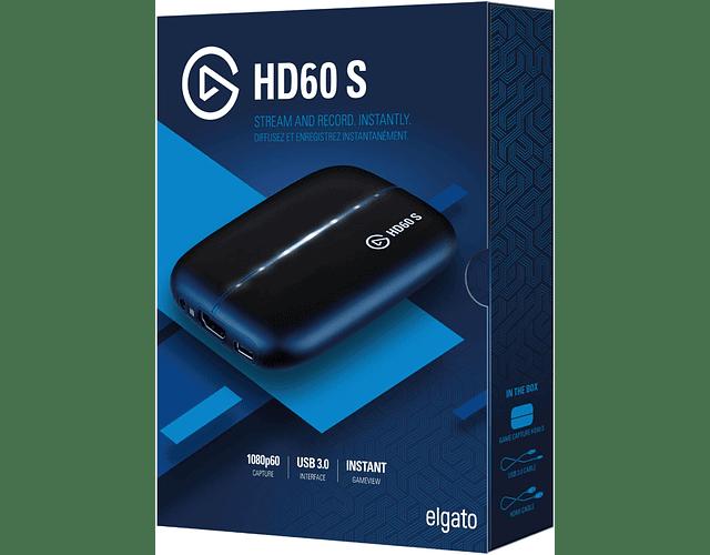 EL GATO HD 60S / CAPTURADORA - USB 3.1 / 108OP - 60 FPS