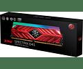 MODULO 8GB (3000 MHZ) SPECTRIX RGB - XPG
