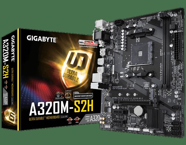 A320M - S2H - GIGABYTE / AMD RYZEN
