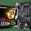 A320M S2H - GIGABYTE / AMD RYZEN