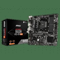 B450M PRO-VDH MAX - MSI / AMD RYZEN