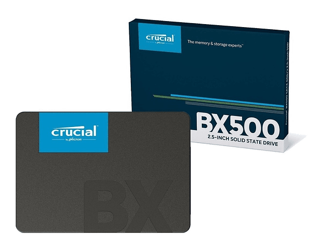 SOLIDO SATA (SSD) 960GB - CRUCIAL BX500