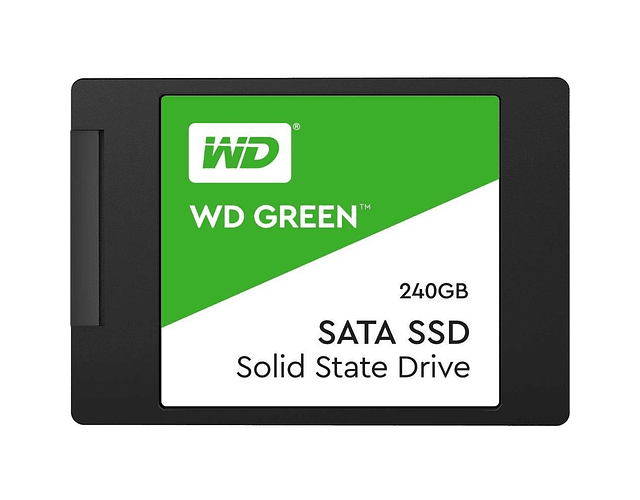SOLIDO SATA (SSD) 240GB - WESTERN DIGITAL GREEN