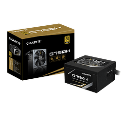 FUENTE REAL 750W 80P GOLD - GIGABYTE
