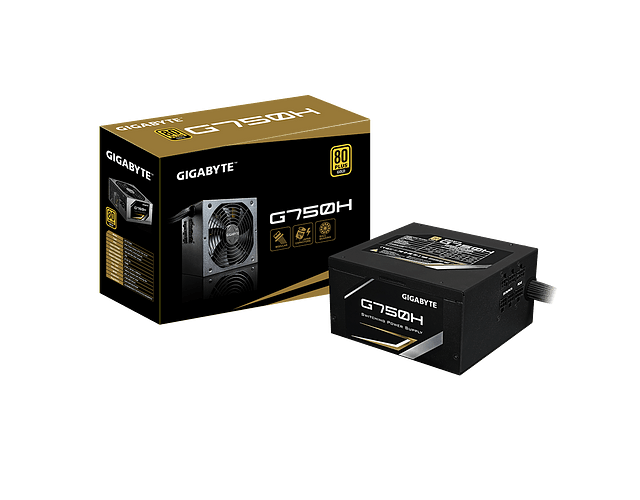 FUENTE REAL 750W 80 PLUS GOLD - GIGABYTE