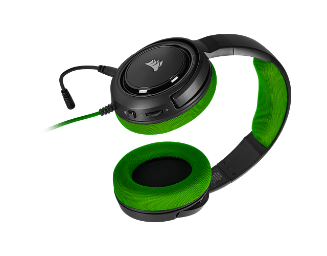 DIADEMA VERDE MULTIPLAY / PC / PS4 - CORSAIR