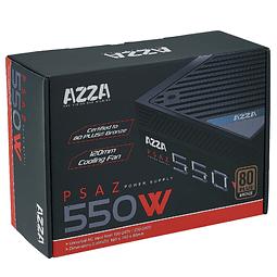 FUENTE REAL 550W 80P. BRONZE - AZZA