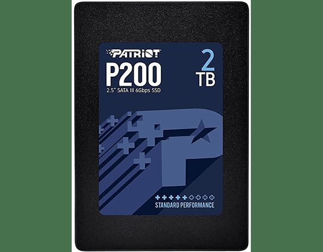SOLIDO SATA (SSD) 2TB - PATRIOT P200