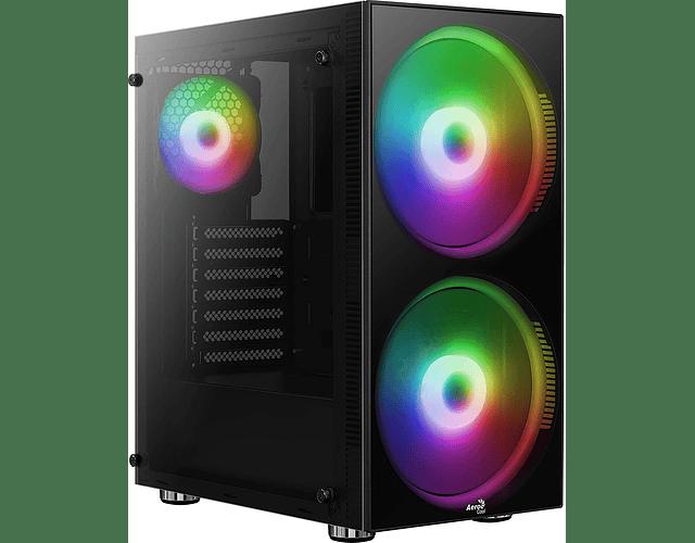 PYTHON GAMING RGB + 2 FANS RGB - AEROCOOL