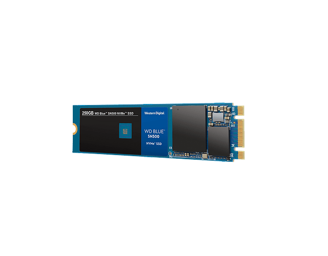 SOLIDO (M2) NVMe 500GB BLUE - WESTERN DIGITAL