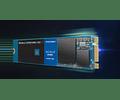 SOLIDO (M2) NVMe 250GB BLUE - WESTERN DIGITAL