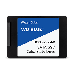 SOLIDO SATA (SSD) 500GB - WESTERN DIGITAL BLUE