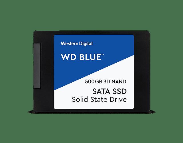 SOLIDO SATA (SSD) 500GB - WESTERN DIGITAL BLUE