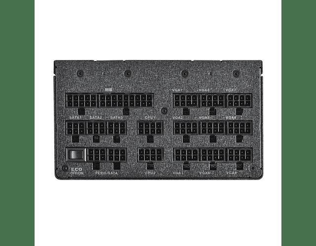 FUENTE REAL 1600W 80P TITANIUM FULLMODULAR / E-VGA