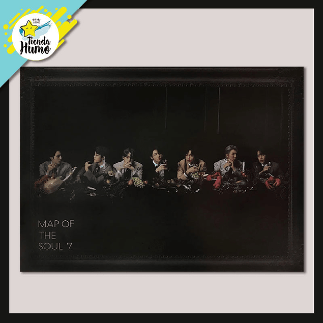 POSTER BTS - MAP OF THE SOUL 7 (Ver. 3)