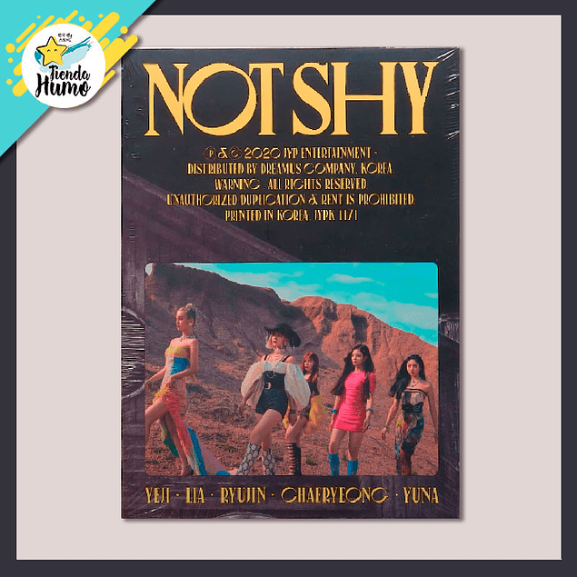 ITZY - NOT SHY (A Ver.)