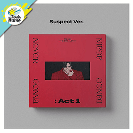SHINEE TAEMIN - NEVER GONNA DANCE AGAIN : ACT 1 (SUSPECT Ver.)