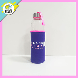 BOTELLA BLACKPINK MORADA