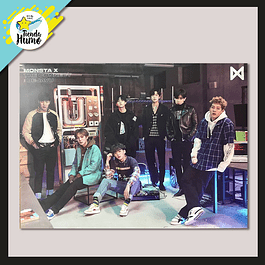POSTER MONSTA X - THE CONNECT (VER. C)