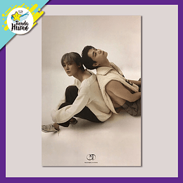 POSTER ASTRO MOONBIN & SANHA - IN-OUT (FADE IN Ver.)