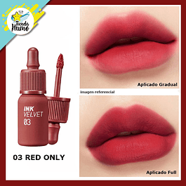 03 INK VELVET RED ONLY - PERIPERA
