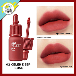 02 INK VELVET CELEB DEEP ROSE - PERIPERA