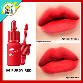 06 INK VELVET PURDY RED -  PERIPERA