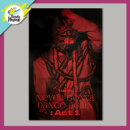 POSTER TAEMIN - NEVER GONNA DANCE AGAIN : ACT 1 (SUSPECT Ver.)