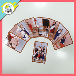 PHOTOCARD TWICE - EYES WIDE OPEN (RETRO Ver.)
