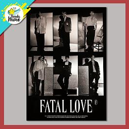 POSTER MONSTA X - FATAL LOVE (Ver. 4)