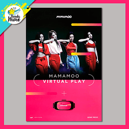 POSTER MAMAMOO - VIRTUAL PLAY