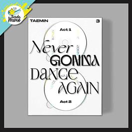 SHINEE TAEMIN - NEVER GONNA DANCE AGAIN (EXTENDED Ver.)